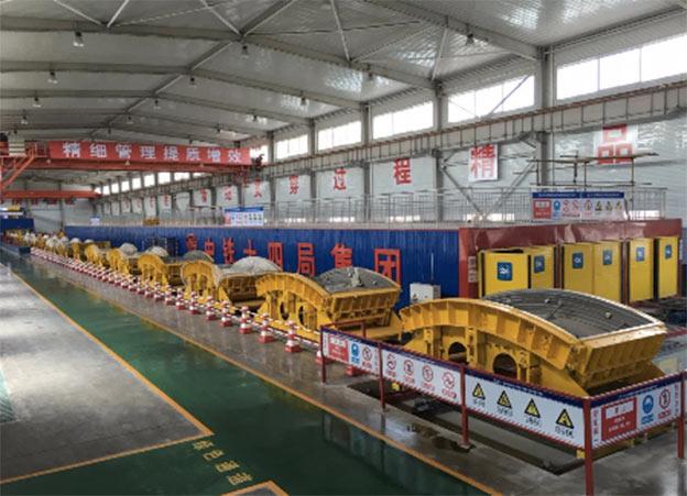 Tunnel segment precast factory