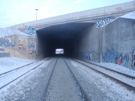 Tight construction challenges for new rail tunnel