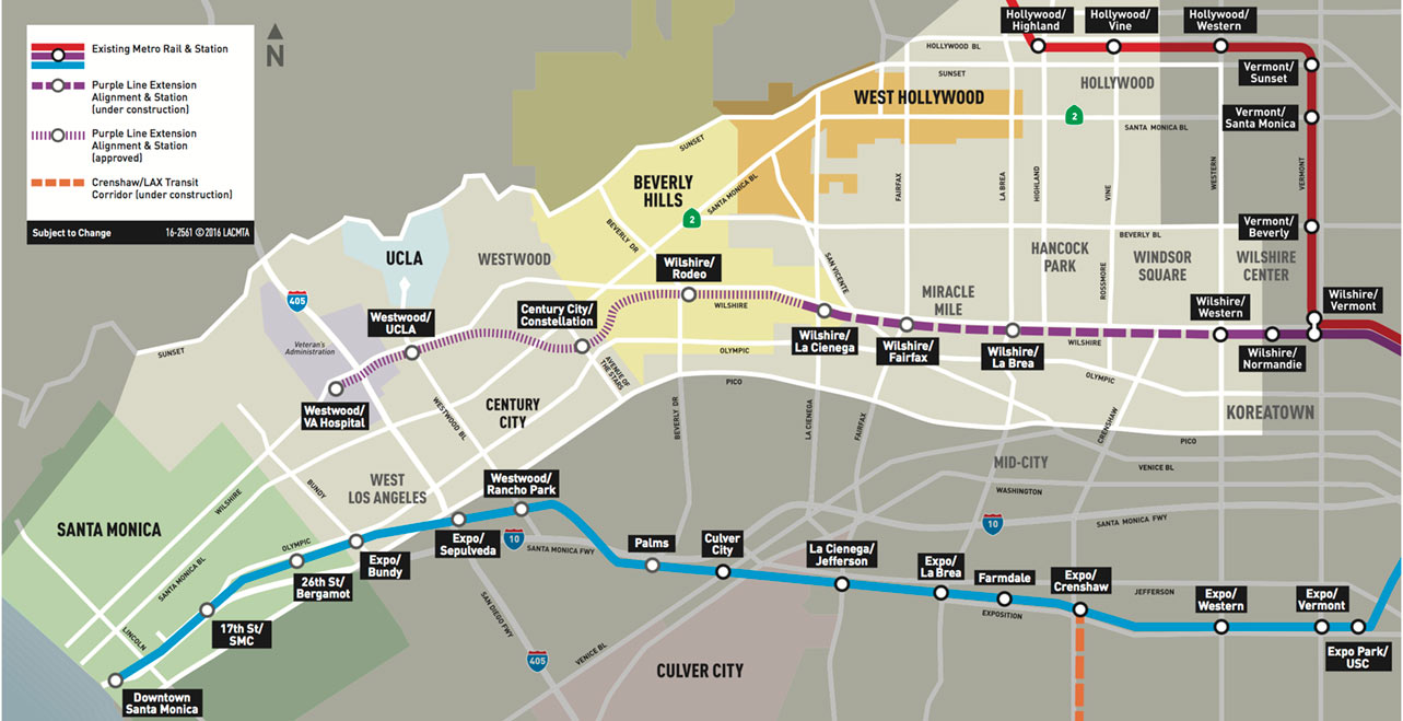 Fig 5. Westside Purple Line Extension