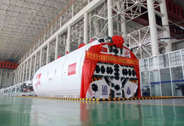 Lovsuns 3.91m diameter EPBM for Istanbul in the factory in China' style=