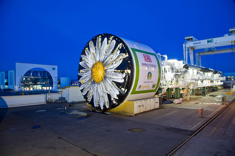 Implenia's Daisy ready to start on the Albvorland Tunnel