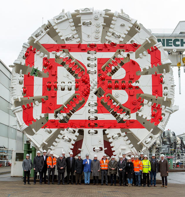 Two TBMs to launch by end of 2017 on the Albvorland Tunnel' style=