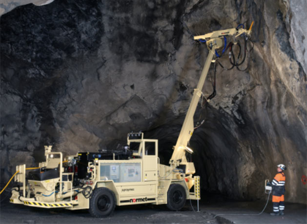 Normet underground solutions