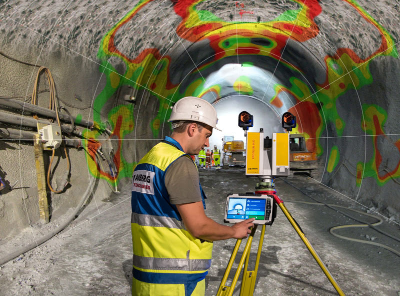 Amberg Tunnelscan laser technology