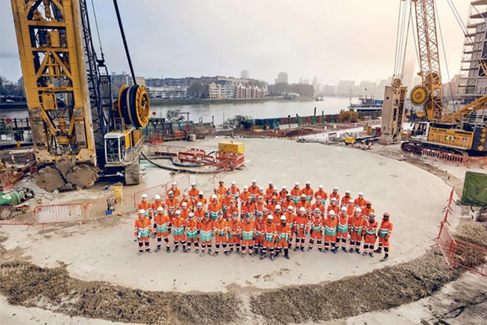 30m diameter shaft to start excavation on Tideway
