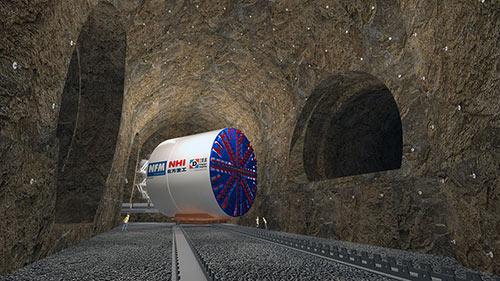 TBM U-turn concept image