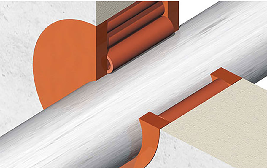Nofirno seals smaller gaps and ducts for cables and pipes