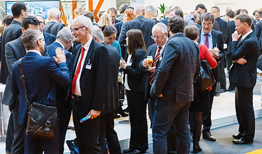 Networking at events and exhibitions something to look forward to when possible