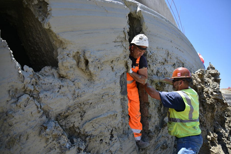 Second, and final, breakthrough at Caltanissetta twin tube road tunnel