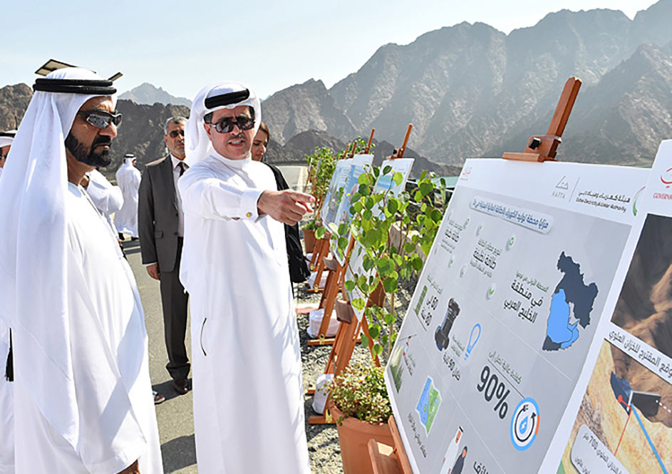 Tunnel construction for UAE Hatta pumped storage project