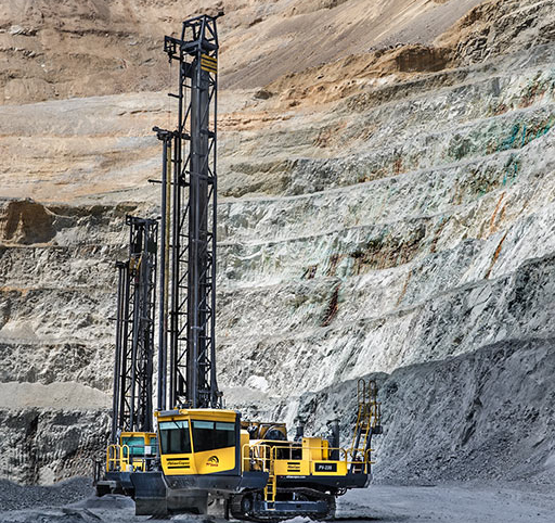 Atlas Copco surface drill rig