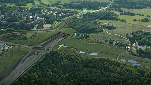 New contract for Strabag on E4 Stockholm bypass