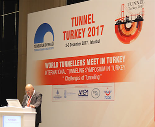Professor Bilgin of Istanbul Technical University opens proceedings
