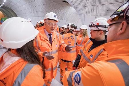 Andrew Jones MP meets new apprentices