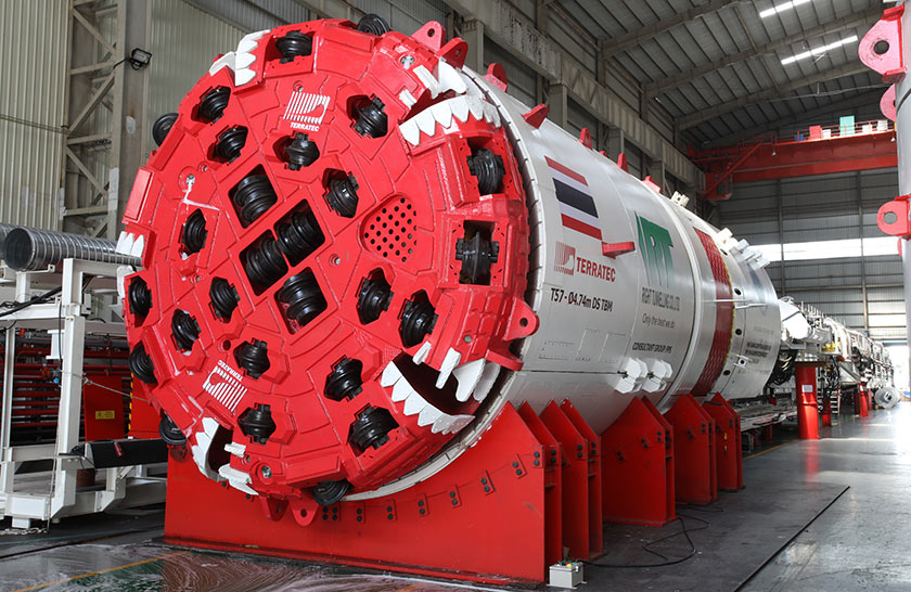 Two 4.74m diameter hard rock double shield TBMs to tackle complex geology
