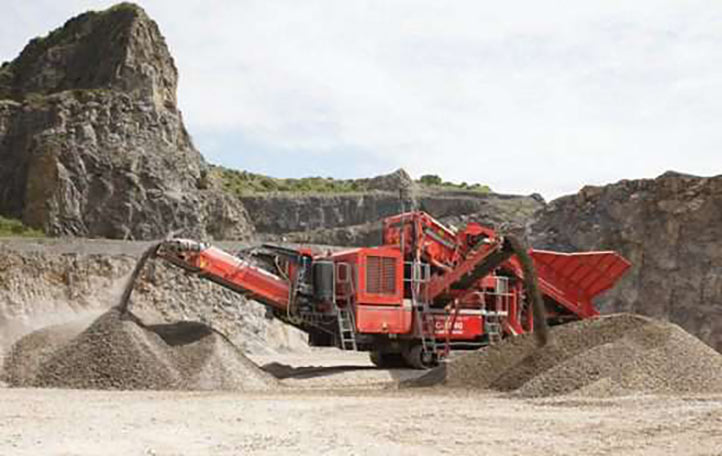 Mobile crushing from Terex Finlay