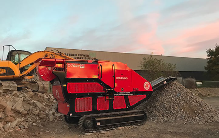 Compact crushing has found favour with tunnellers