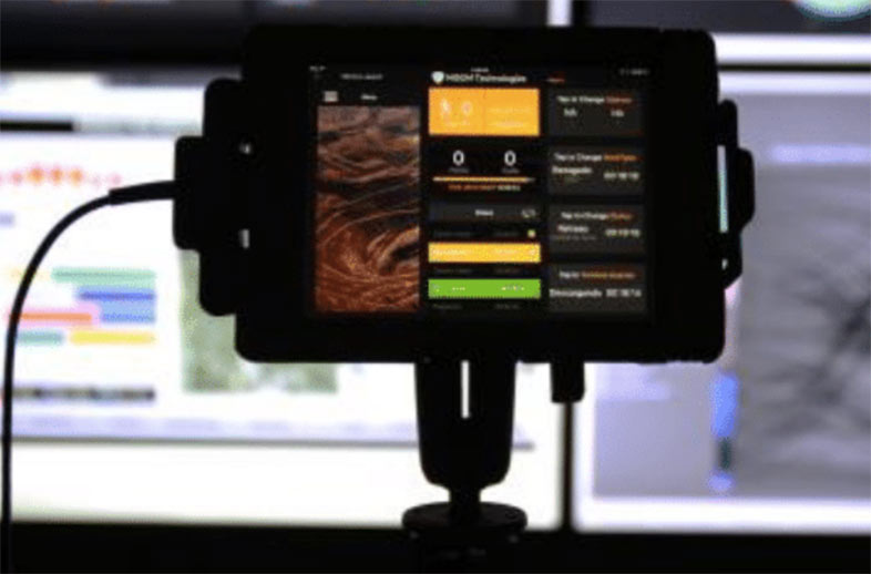 Easy to install MISOM vehicle mounted ipad