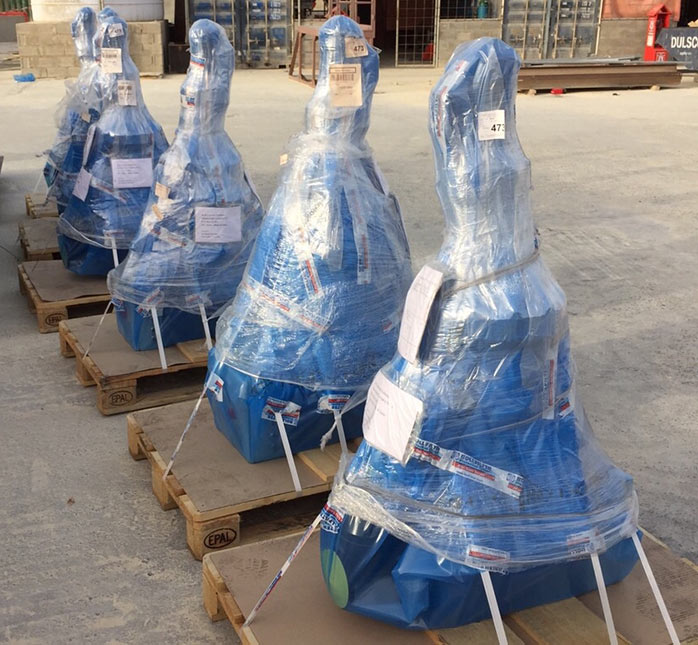 Air freight packaged for Doha delivery
