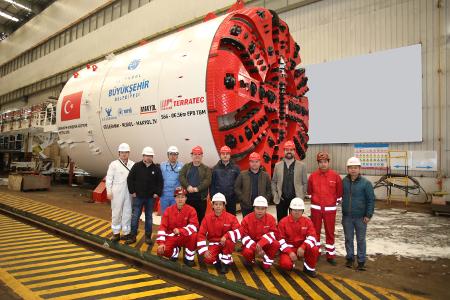 Gulermak, Nurol & Makyol JV receive four new TBMs for the Ümraniye-Ataşehir-Göztepe Metro Line, Istanbul
