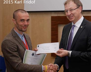 2015 winner Karl Fridolf