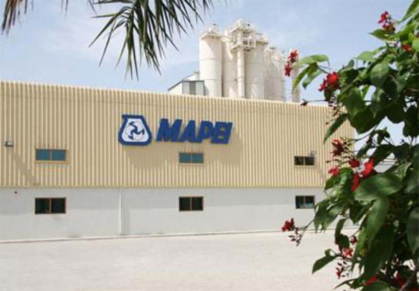 Mapei new production facility in Dubai
