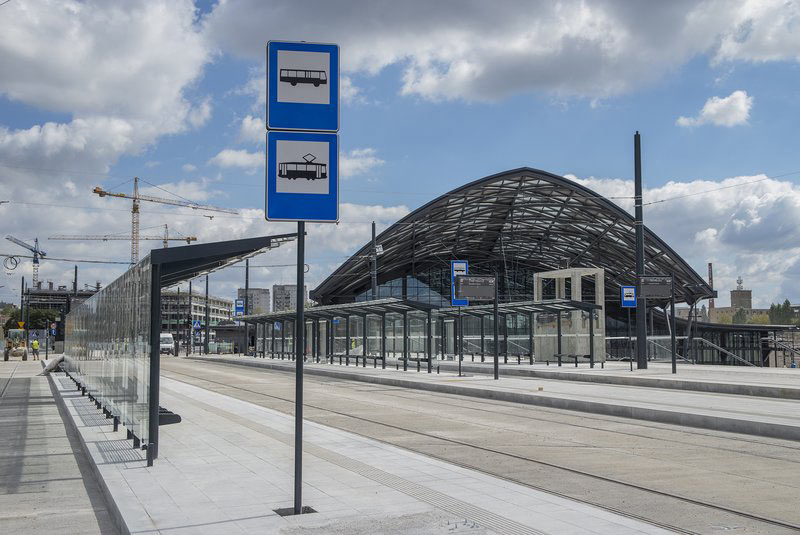 The new rail system will host two underground stations
