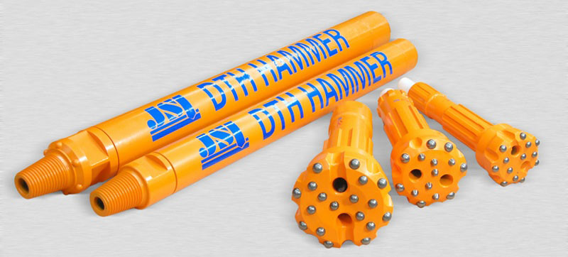 DTH hammers designed for large-diameter drilling