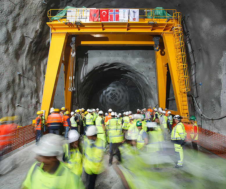 Completion of the first TBM-driven tunnel in Albania