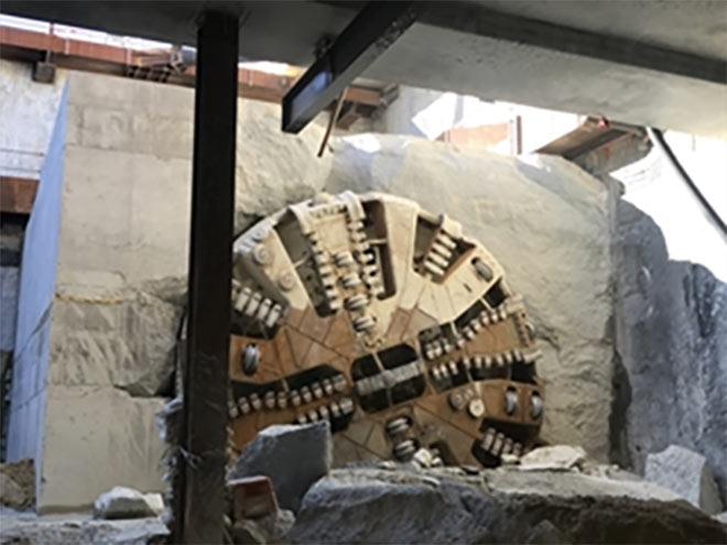 Breakthrough for TBM 2 achieved 11 days later