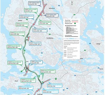 E4 Stockholm bypass, Sweden