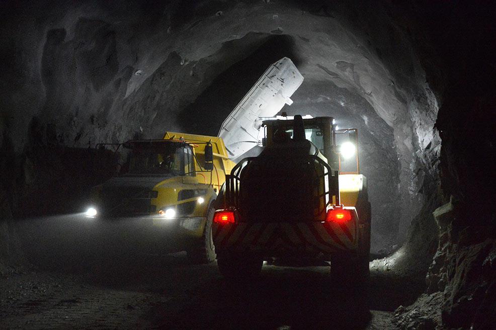 Arsvågen Lot has 4km of tunnels