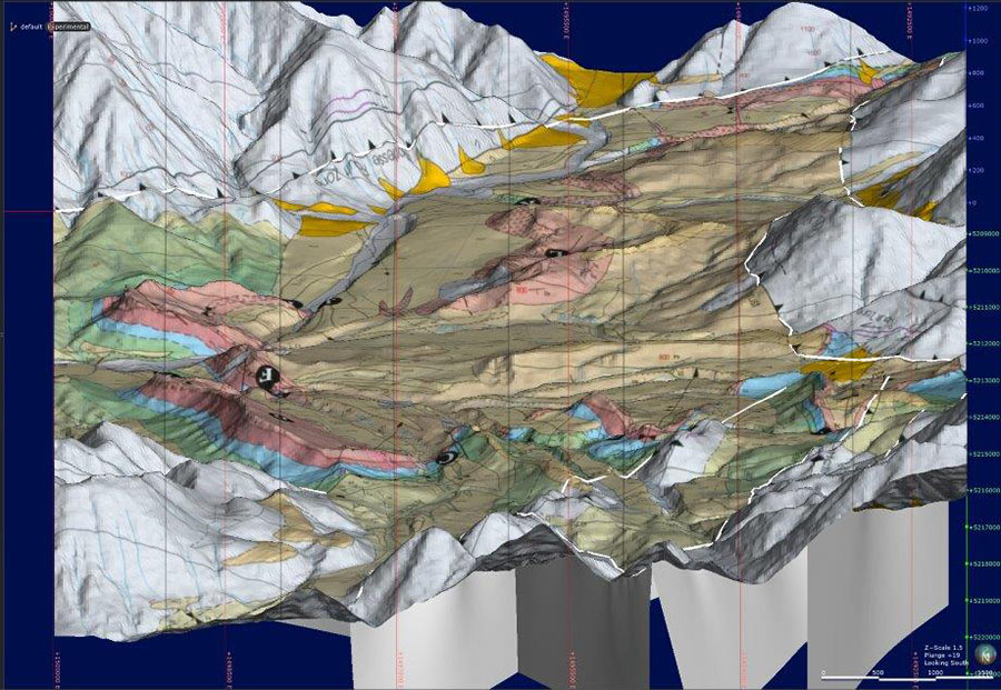 New image supports geological map over topography