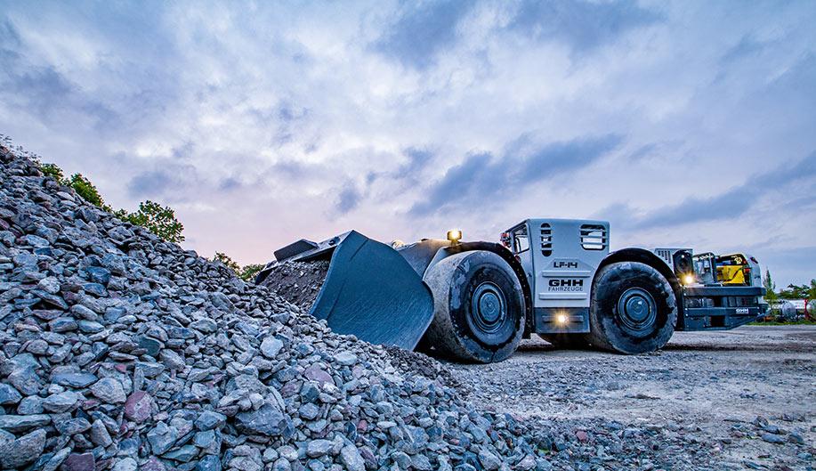 The LF14 load haul dumper