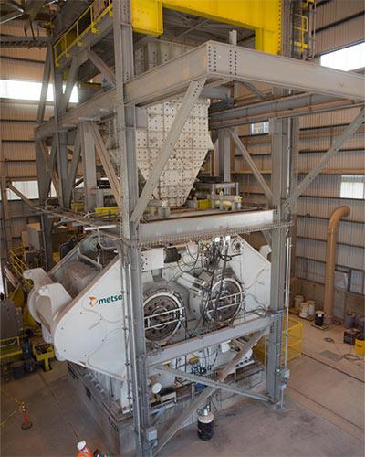 High-pressure grinding technology