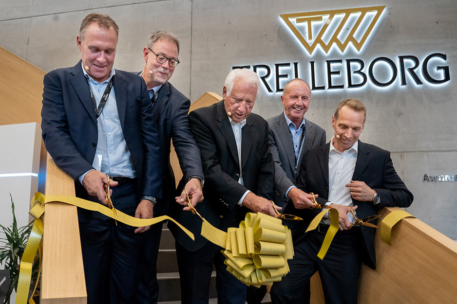 (l to r) Peter Nilsson, Peter Hahn, Horst Bülow, Claus Barsoe, Carsten Stehle