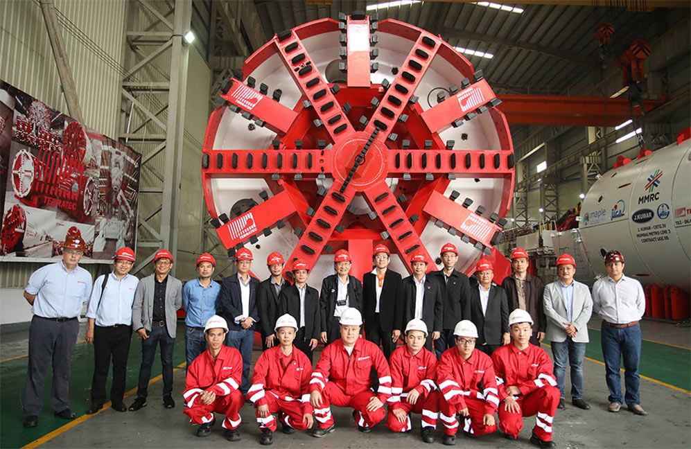 6.39m diameter Terratec EPBM used on the Bangkok Metro