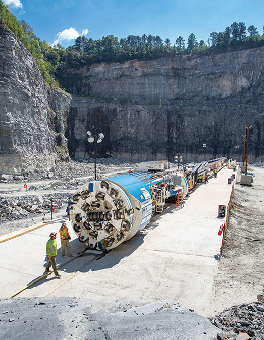 OFTA assembly in the Bellwood Quarry