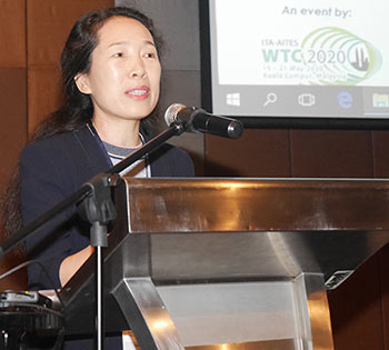Prof. Jenny Yan Jinxiu, ITA vice president and co-chair of the SEASET 2018 joint conference