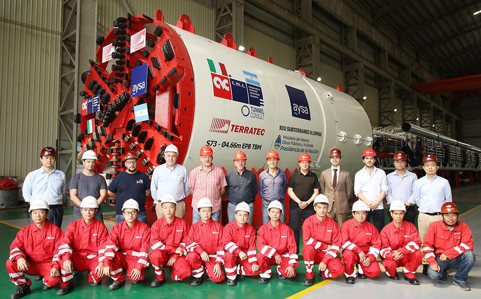 4.66m diameter Terratec EPBM