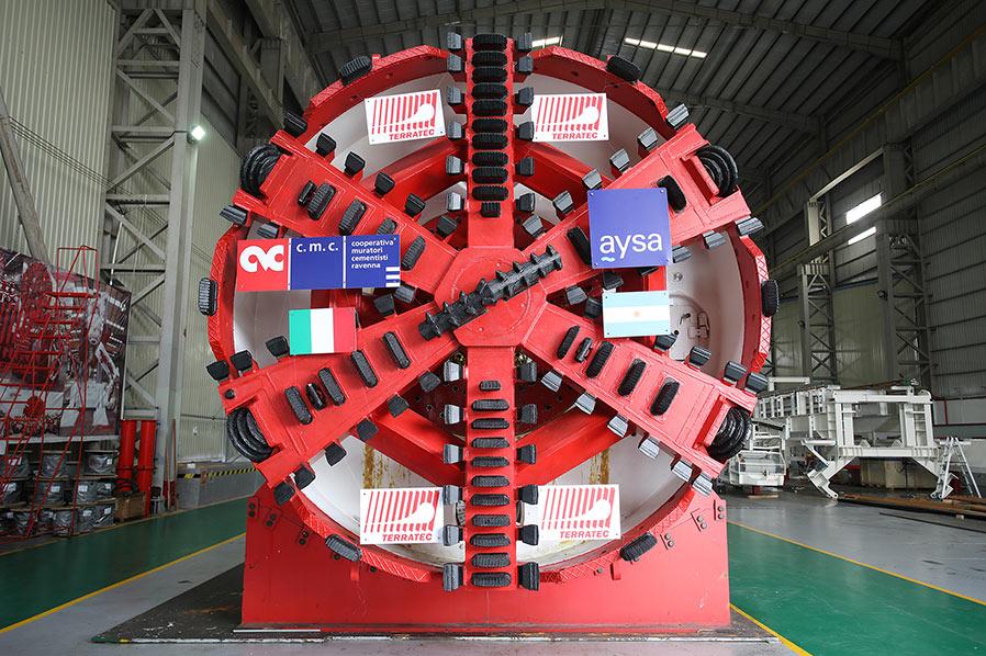 EPBM will be deployed by Italian contractor CMC di Ravenna