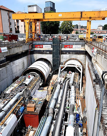 Work begins on west section of Milan Metro Line 4