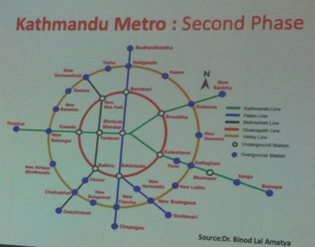 "Ambitious plans for Kathmandu Metro"" style=""width:400px;"