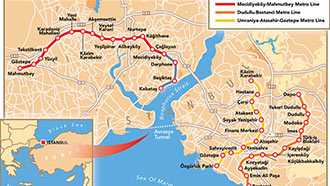 Istanbul Metro progress so far