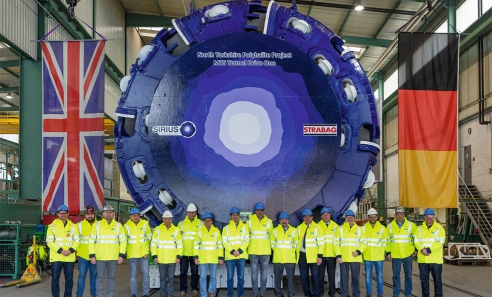 First 6m single-shield rock TBM procured for the MST drives