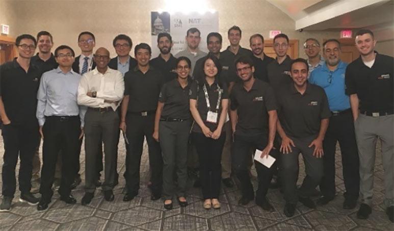 Colorado School of Mines Scholarship Recipients at NAT 2018