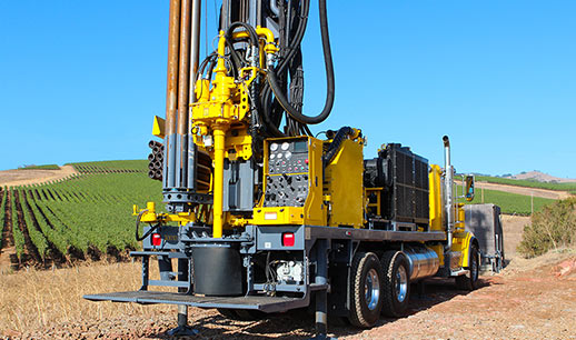 Epiroc water well drill rig