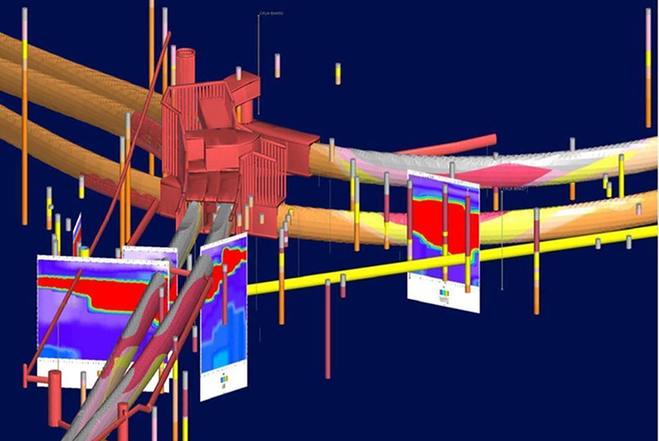 Fig 2. City Rail Link in detailed 3D view