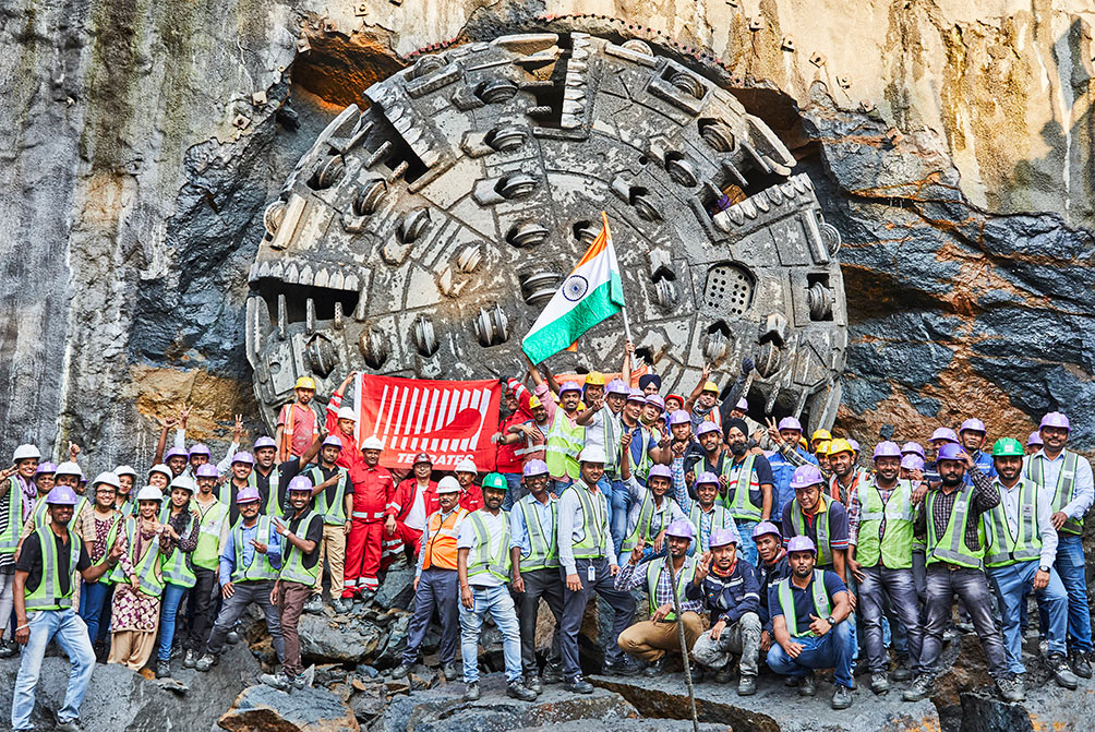 Breakthrough for the first Terratec TBM
