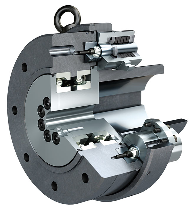 Disengaging EAS®-HT torque limiters operate with precision and are immediately ready for operation once cuase of an overload stoppage is rectified